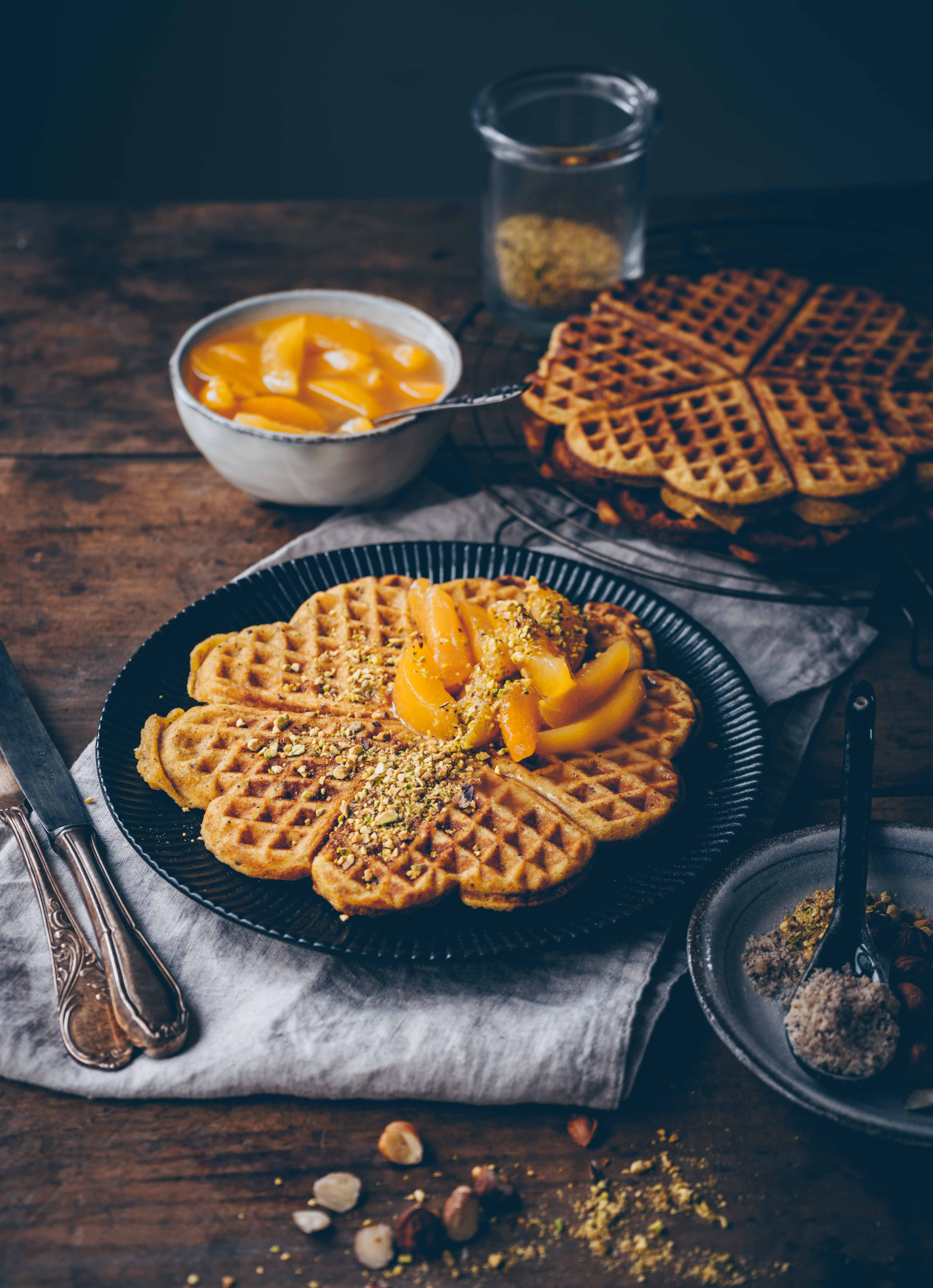 Marzipan Waffles