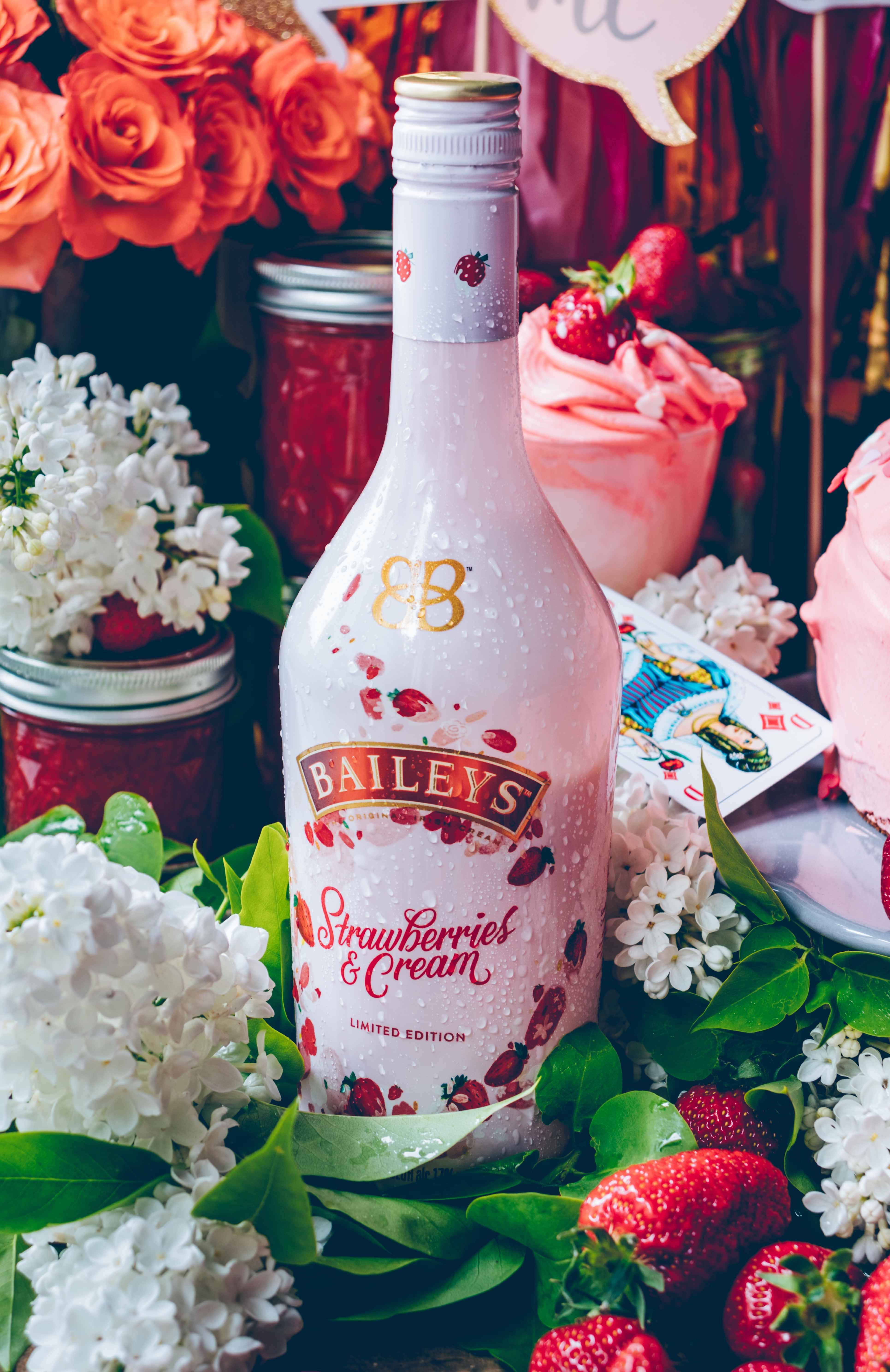 Baileys Erdbeertorte