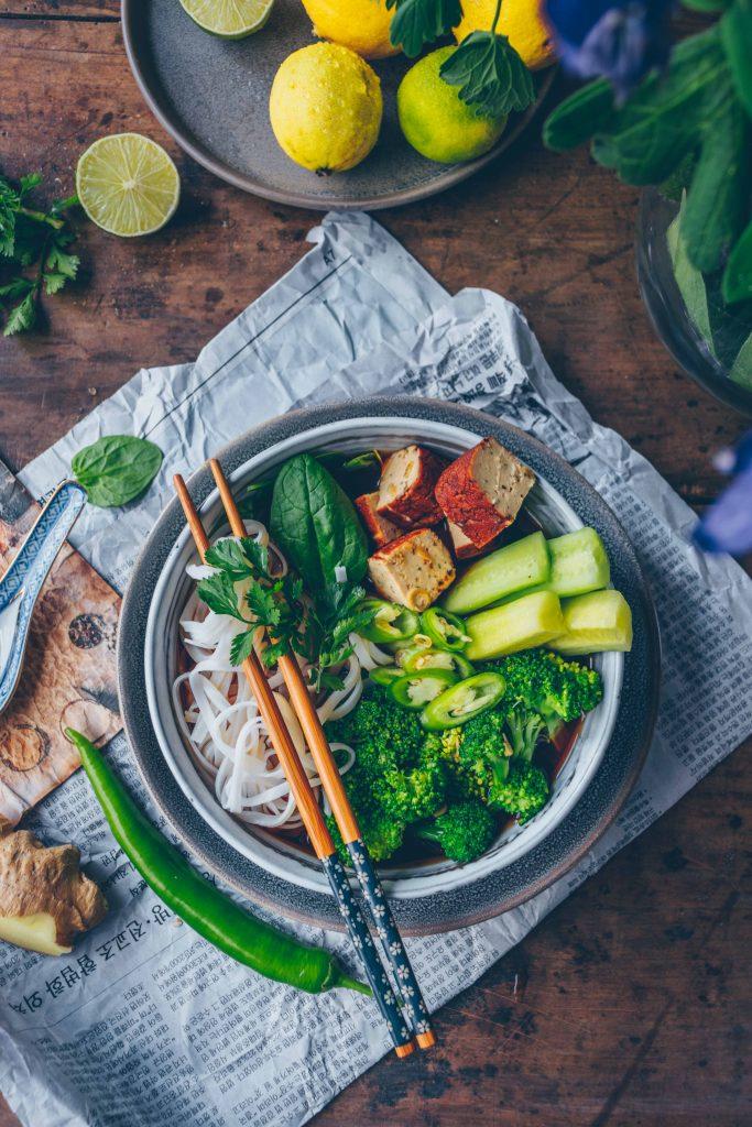 Grüne thai curry suppe
