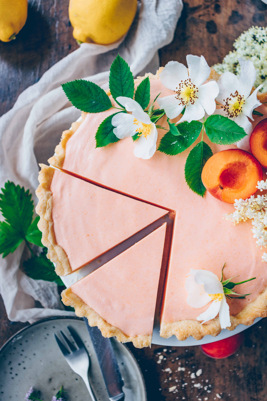 Vegan Apricot Tart