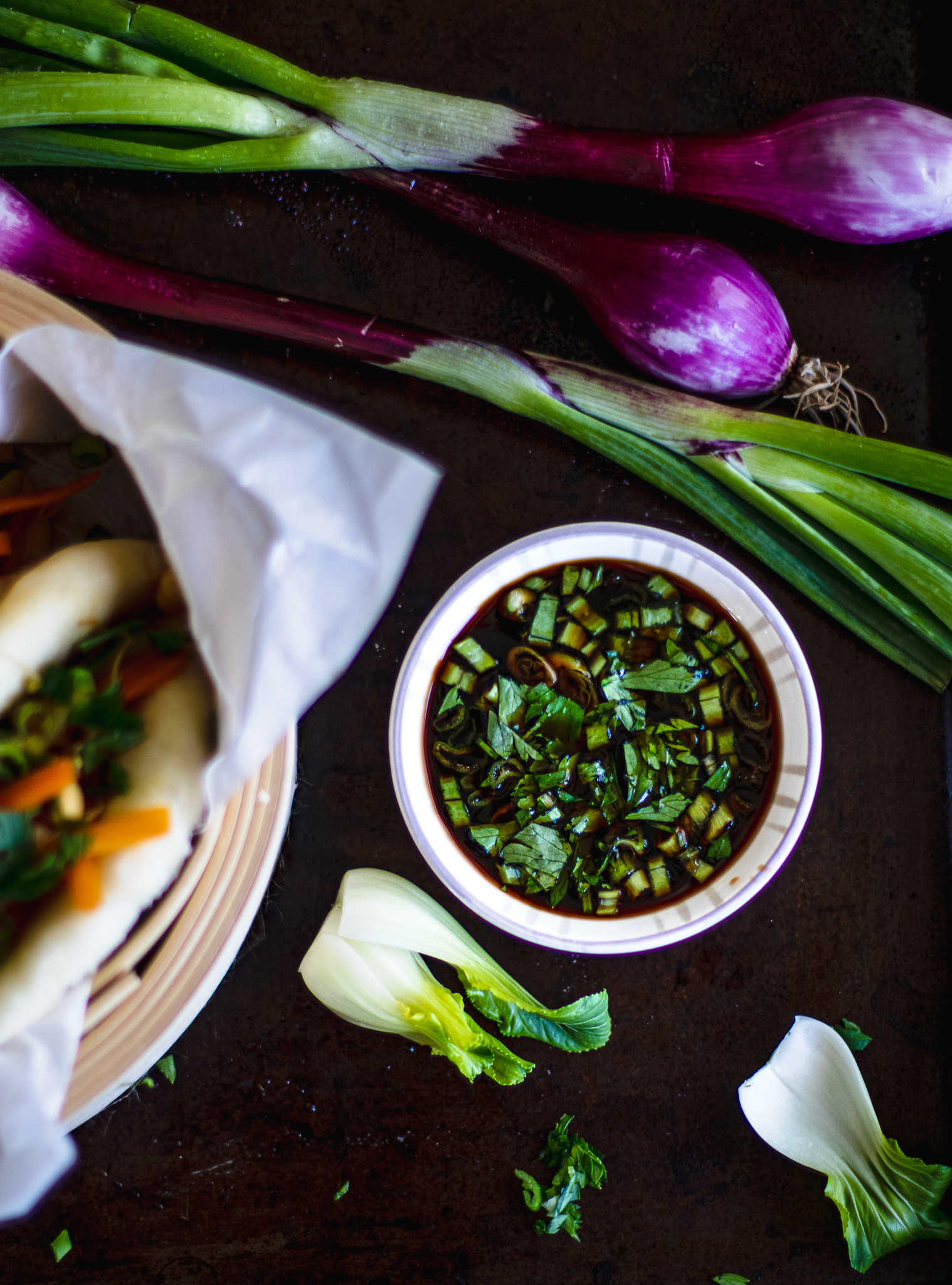 vegan bao buns