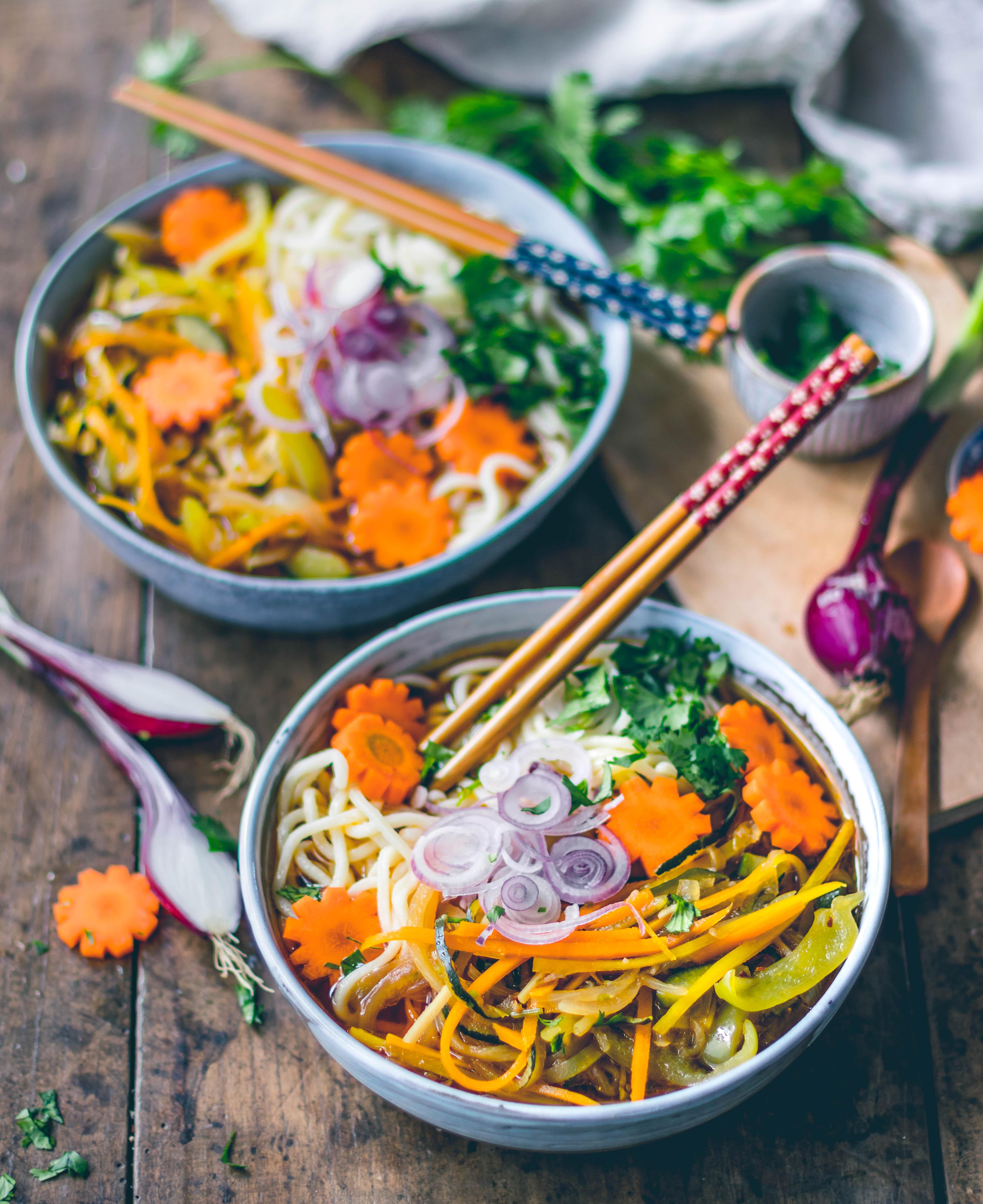 Taiwanesische-Gemüse-Suppe