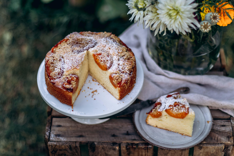 Aprikosen - Erdnuss - Kuchen