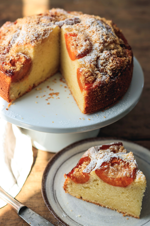 apricot peanut cake