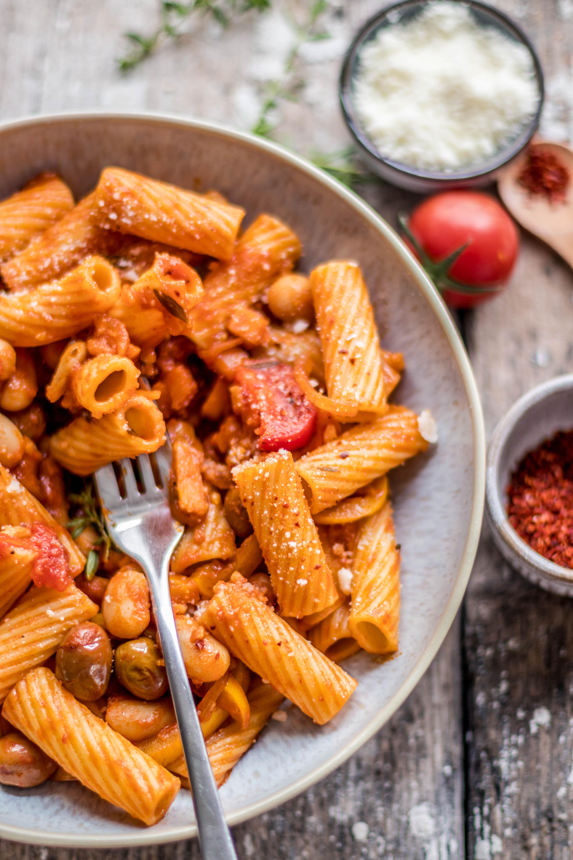 tomato pepper pasta sauce