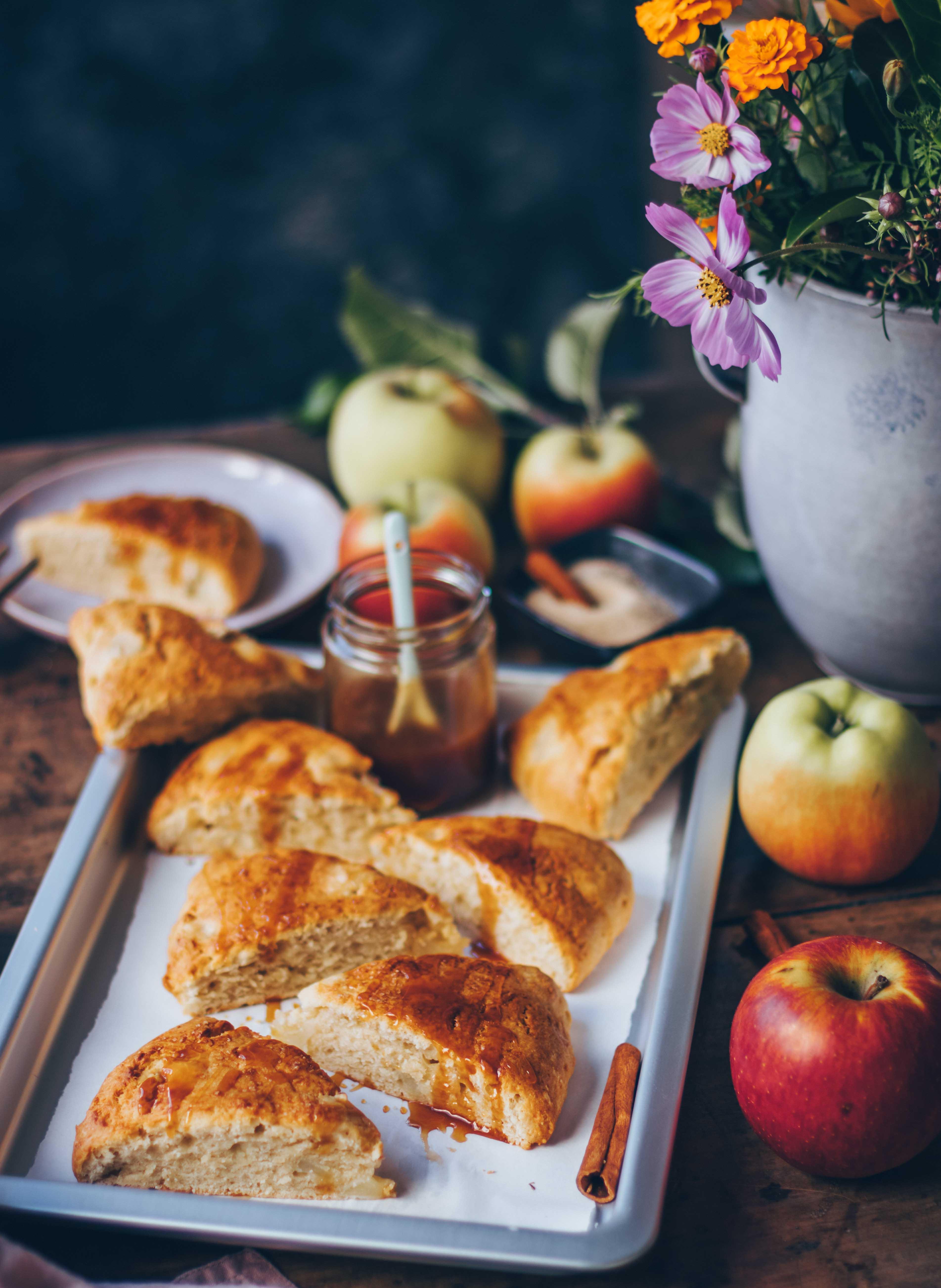 Apfel Zimt Scones