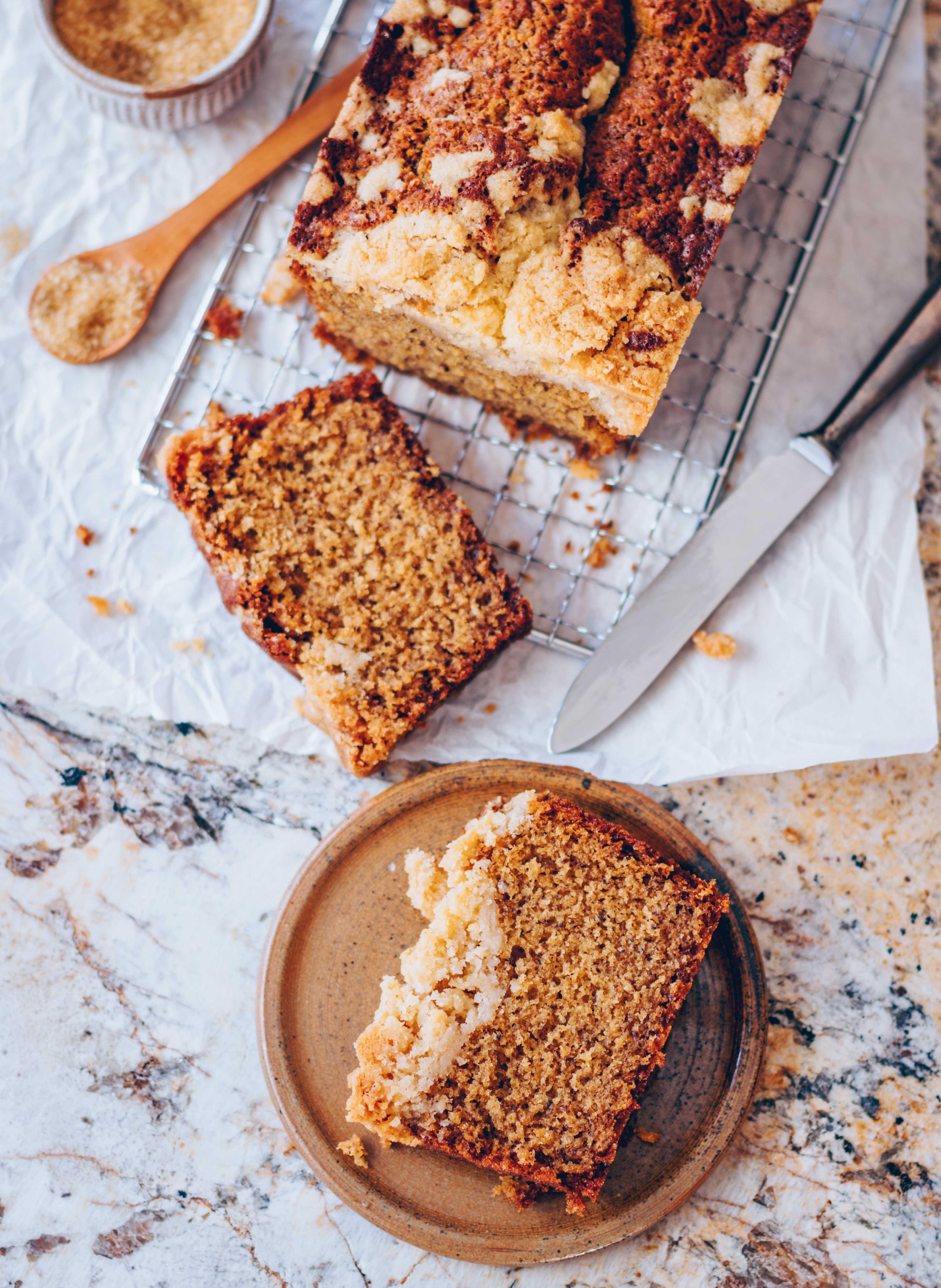Earl Grey Cake with cinnamon streusel