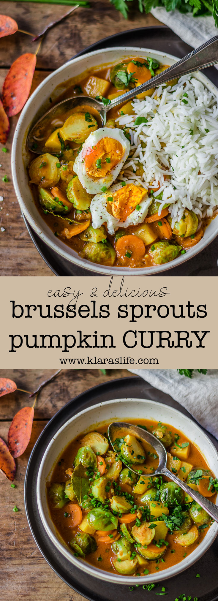 Brussels Sprouts Pumpkin Curry