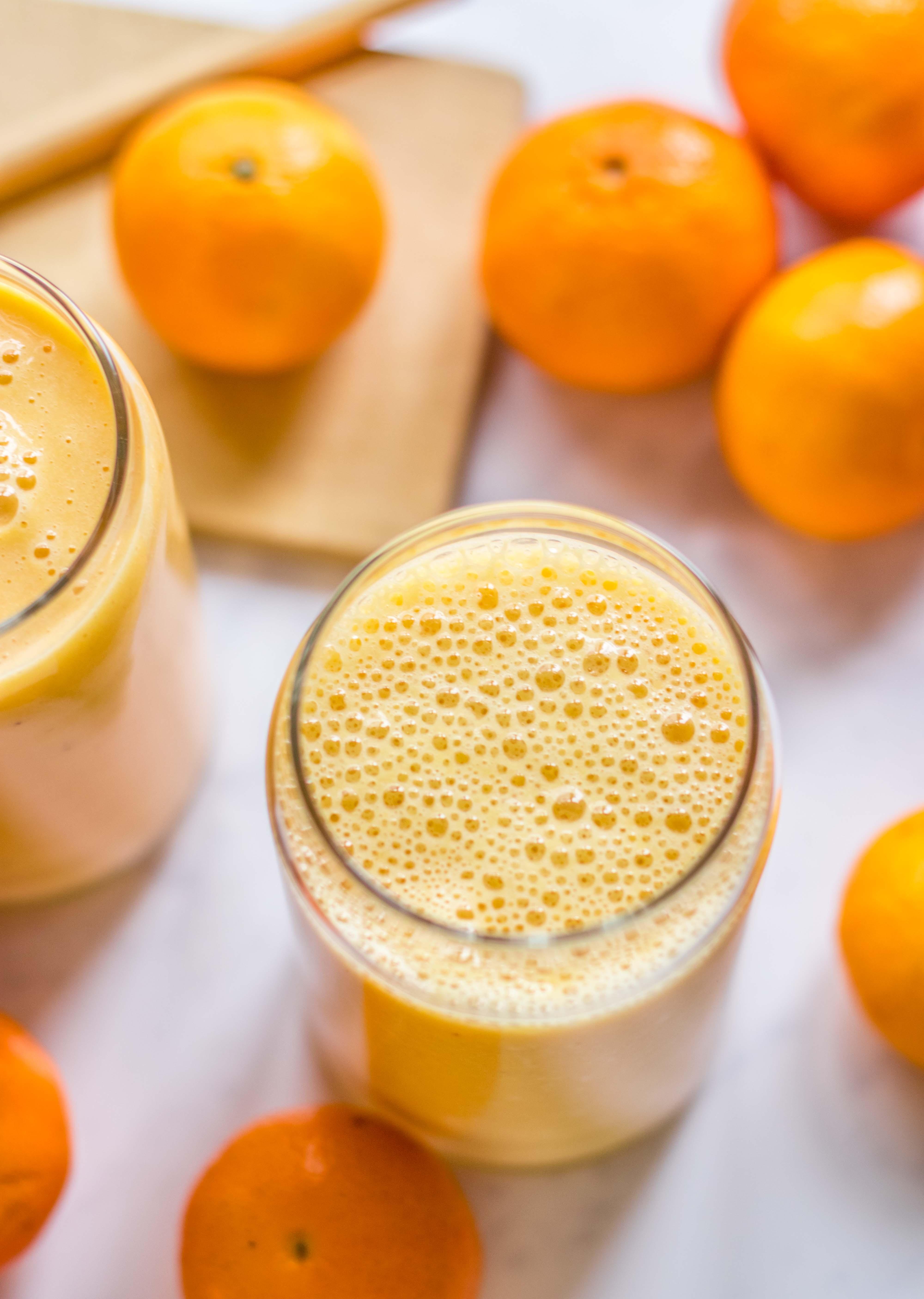 Mandarinen Bananen Smoothie