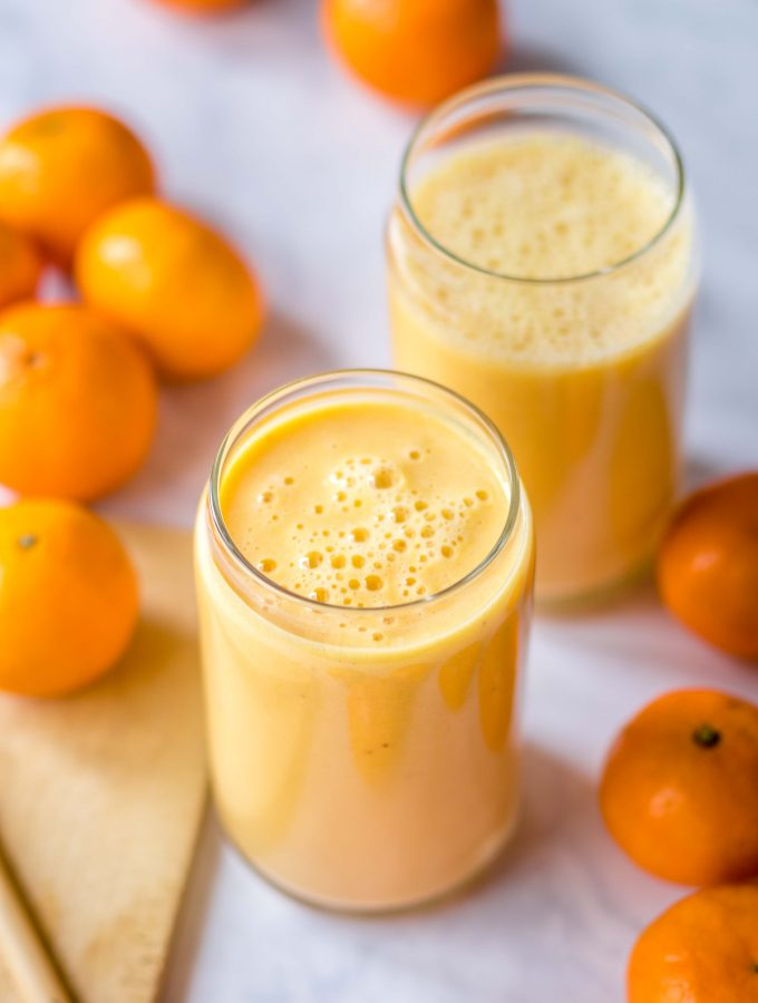 clementine banana smoothie