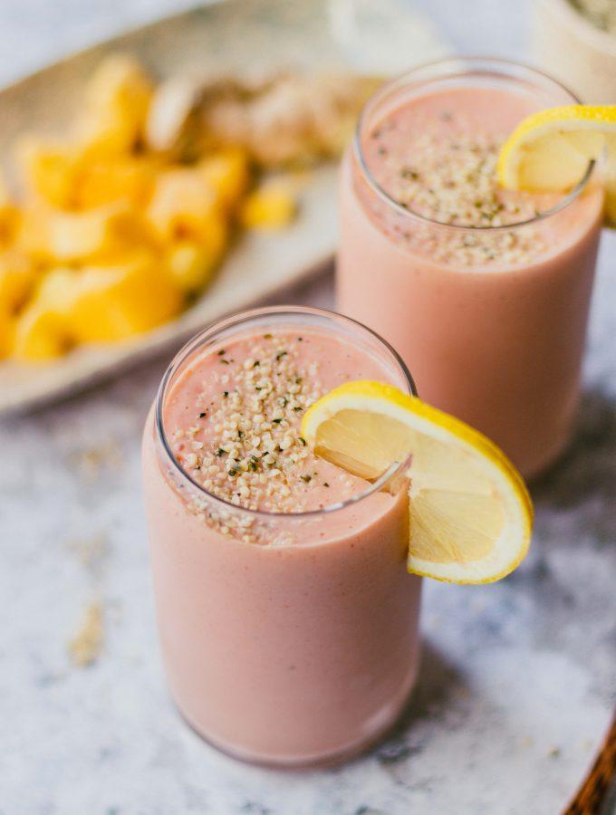 Erdbeer Mango Smoothie