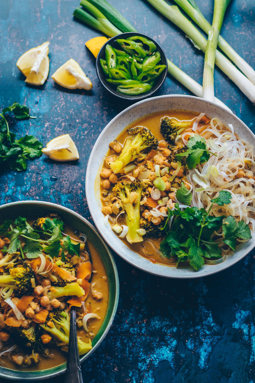 Kichererbsen Brokkoli Curry