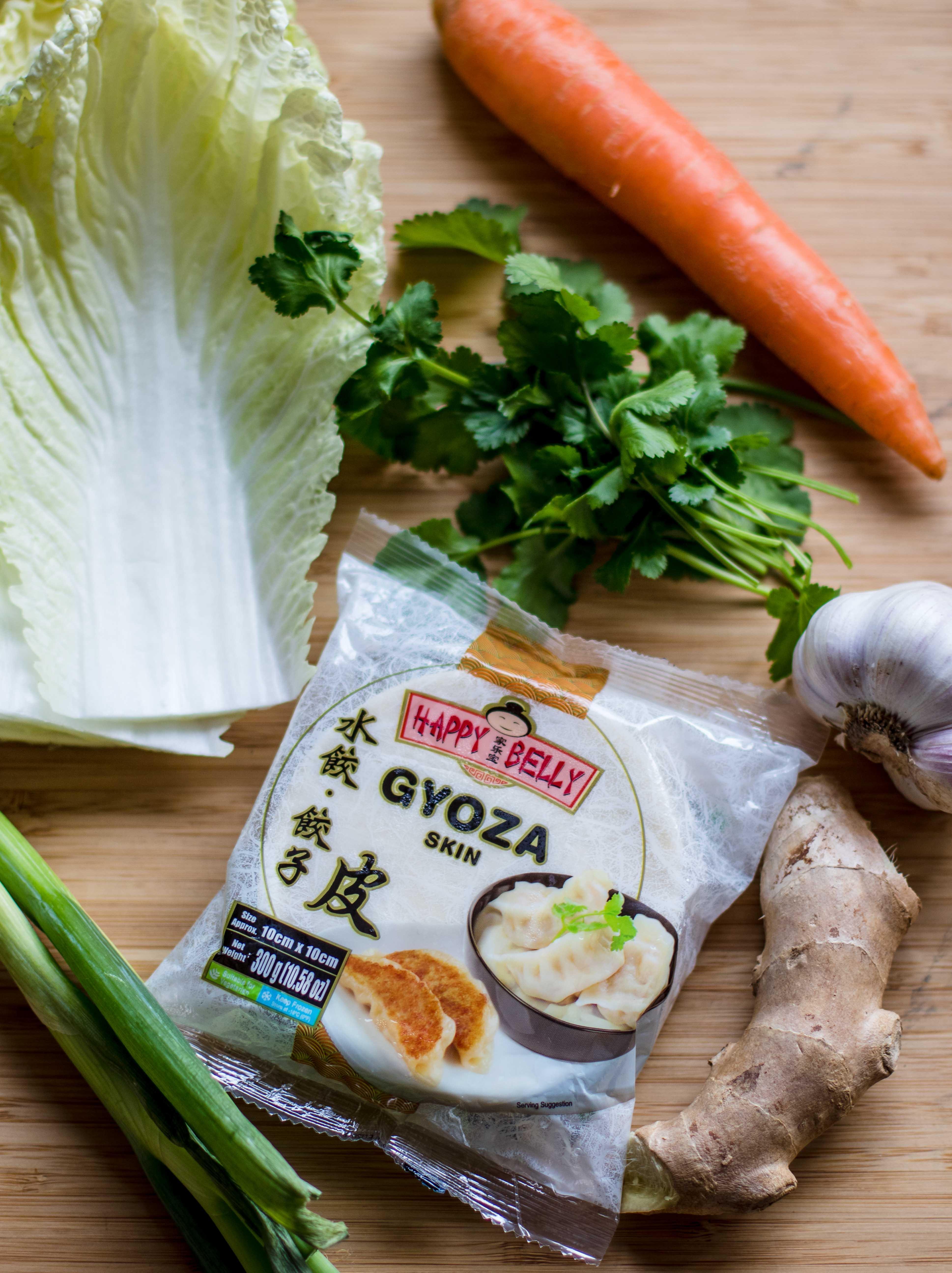 Vegetable potstickers