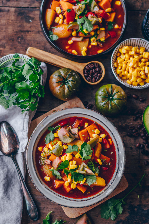 südamerikanischer Gemüse Eintopf