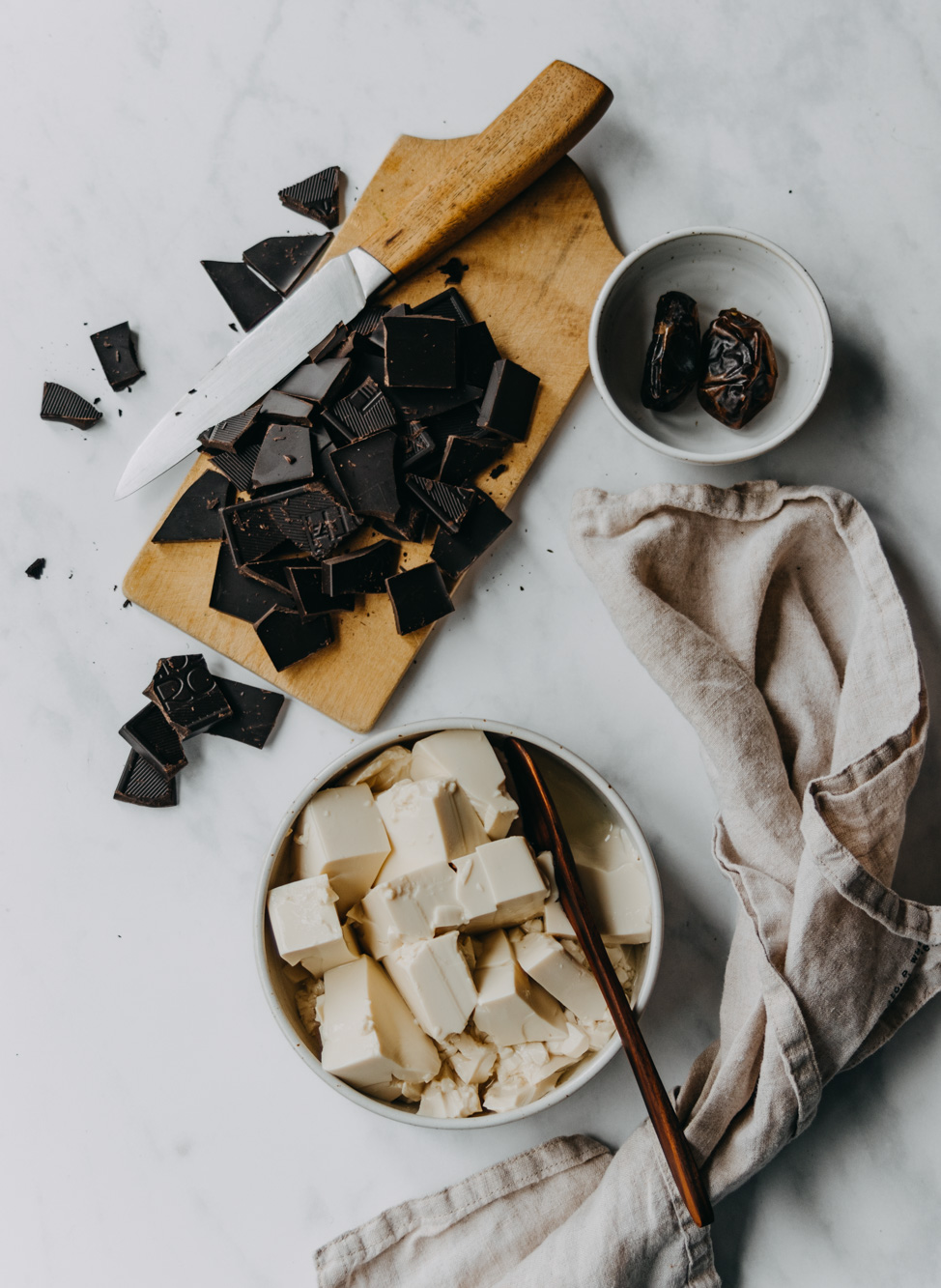 Schokoladen Mousse mit Seidentofu