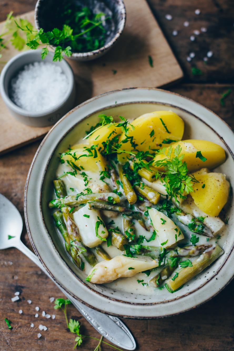 asparagus ragout