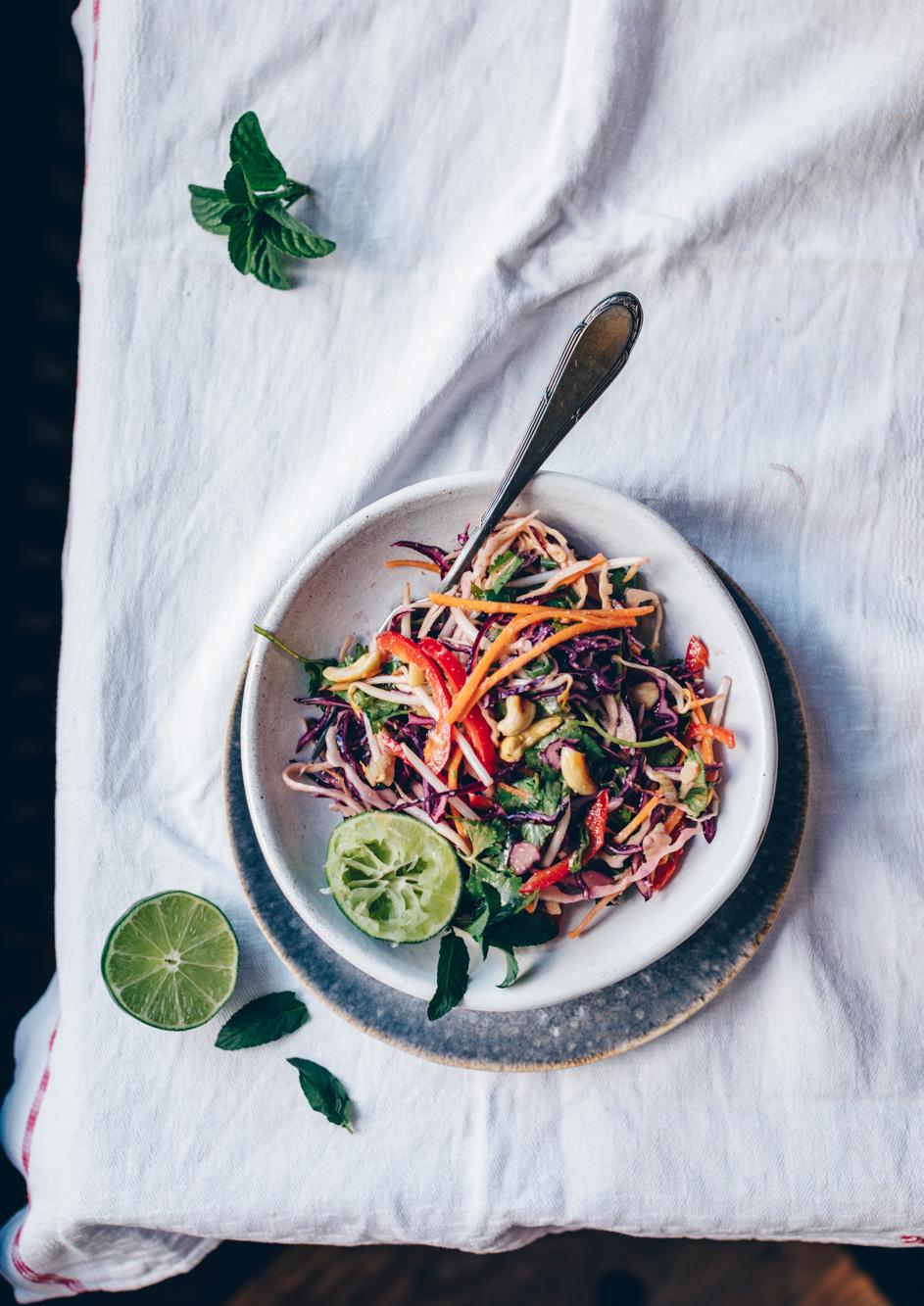 Asiatischer Kohlsalat