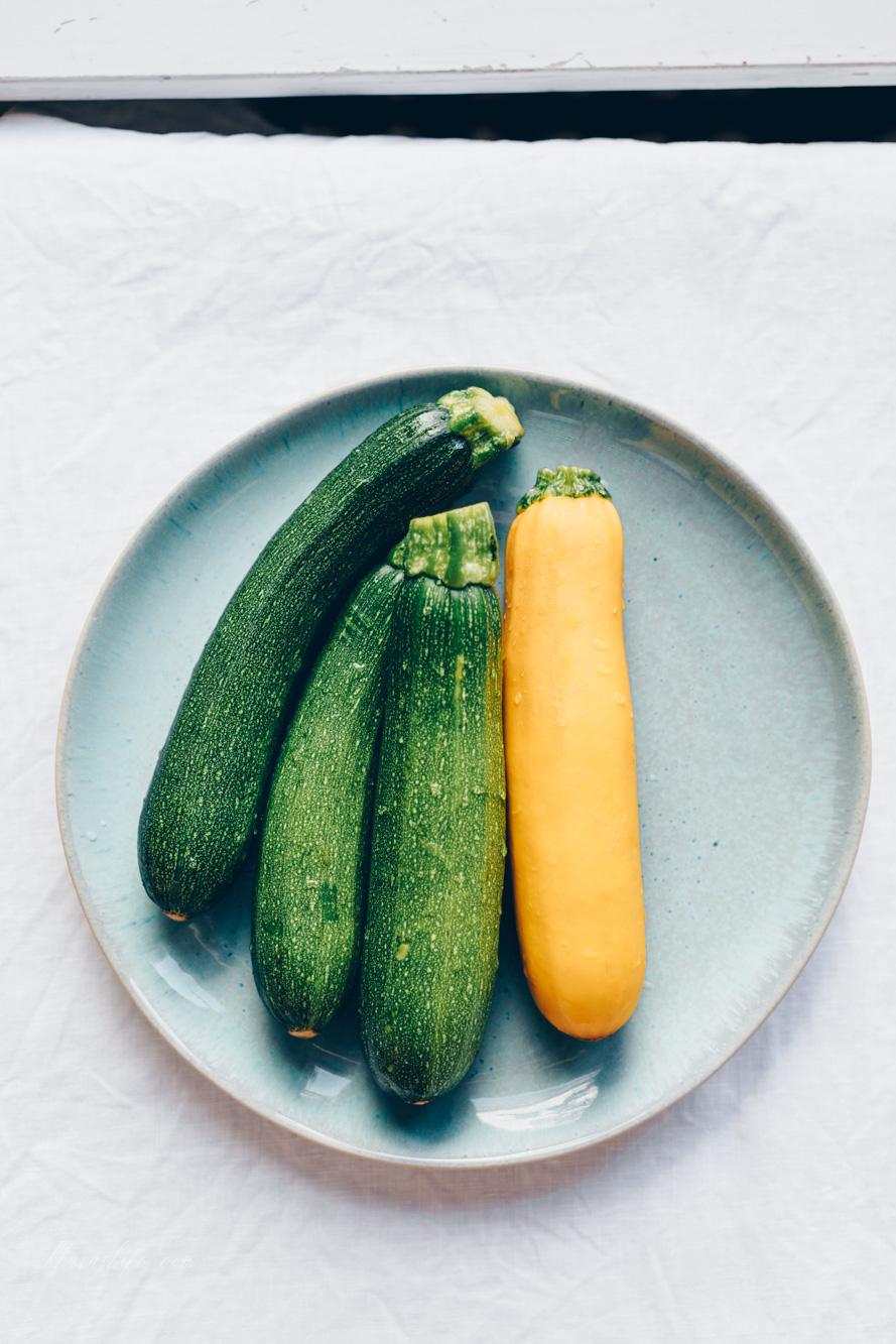 Zucchini-Graupensalat