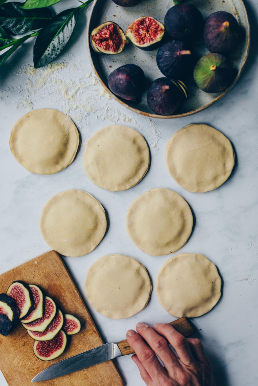 Feigen Blätterteig-Tartelettes