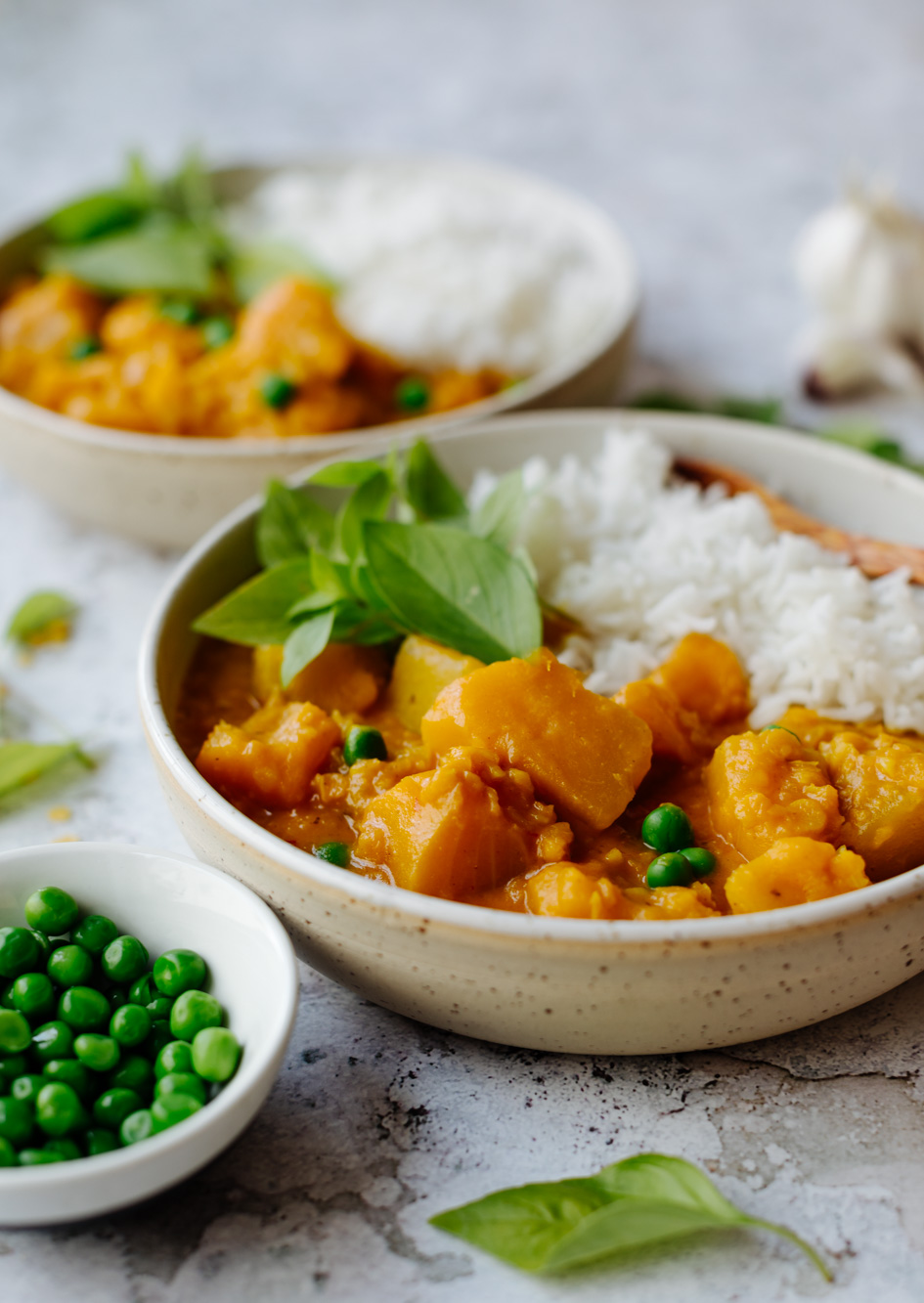 Lentil pumpkin curry