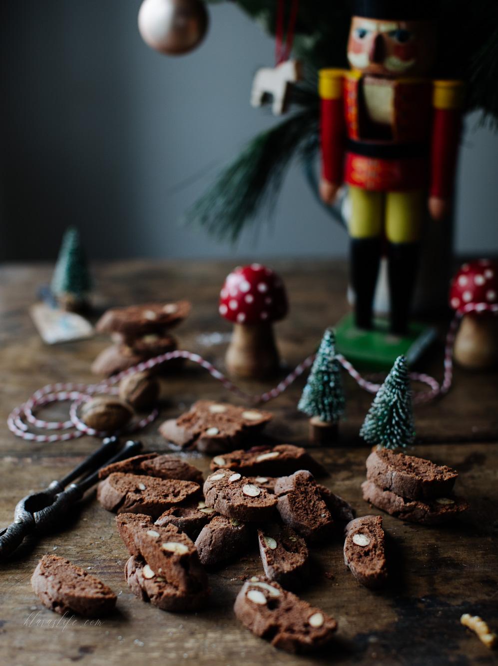 Schokoladen Biscotti