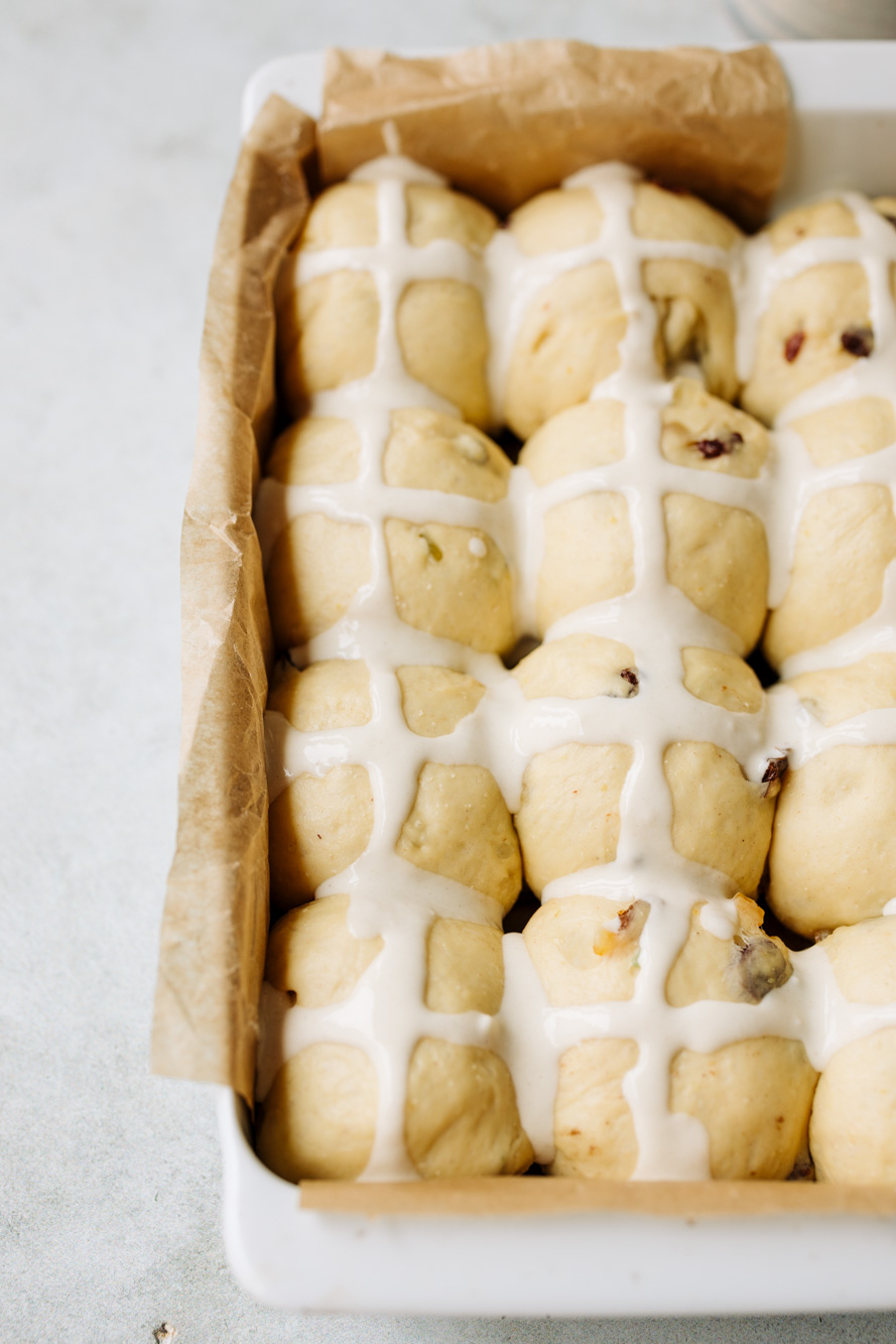 Hot Cross Buns Rezept