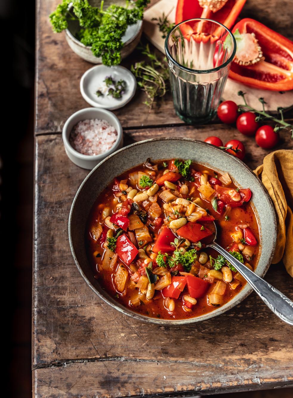Fennel bean stew