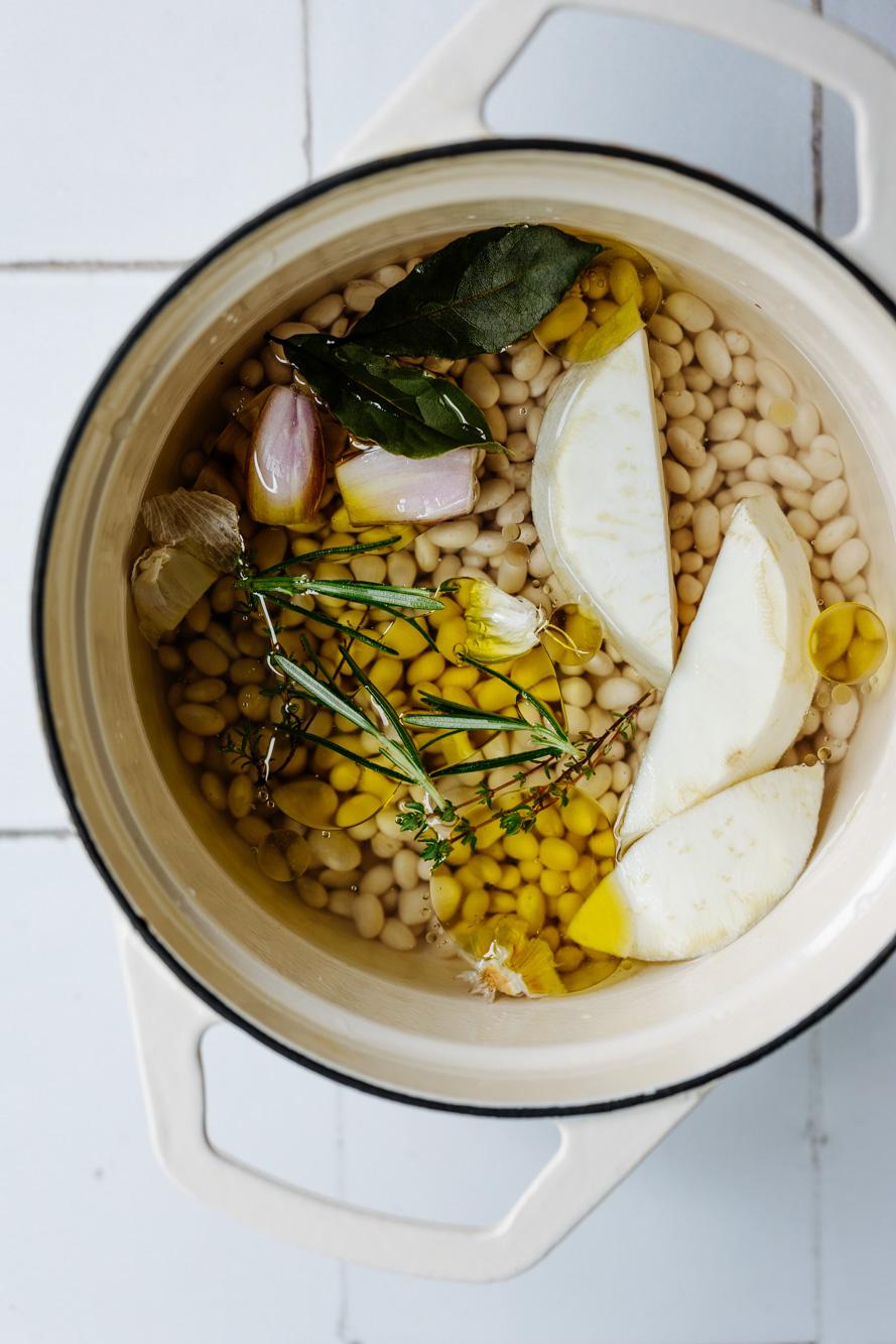 Getrocknete Bohnen kochen