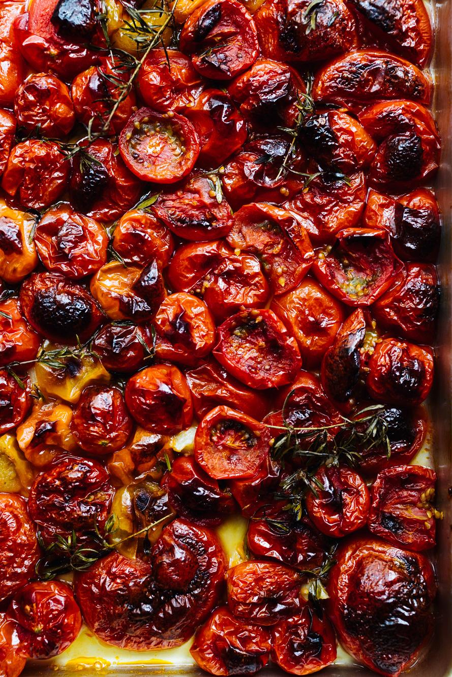 Tomatensuppe aus dem Backofen